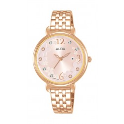 Alba Ladies 32mm Analog Fashion Metal Watch - AH7V92X1