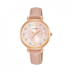 ALBA Quartz Analog Fashion 32mm Ladies Watch - AH7W02X1