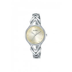 Alba 28mm Analog Ladies Metal Watch (AH8509X1) - Silver