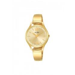 Alba 30mm Analog Ladies Metal Watch (AH8512X1) - Gold