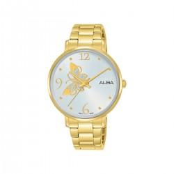 Alba 36mm Analog Ladies Metal Watch (AH8608X1) - Gold