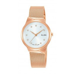 Alba 30mm Ladies Analog Fashion Metal Watch - (AH8614X1)