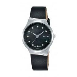 Alba 30mm Ladies Analog Fashion Leather Watch - (AH8625X1)