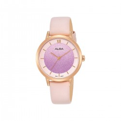 Alba 32mm Analog Ladies Fashion Leather Watch (AH8636X1) - Pink