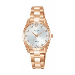 Alba 28mm Ladies Analog Metal Fashion Watch - AH8738X1