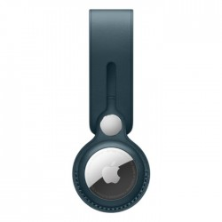 Apple AirTag Leather Loop dark Baltic Blue buy in xcite kuwait