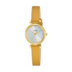 Alba 21mm Ladies Leather Analog Watch (AK3034X1) - Mustard