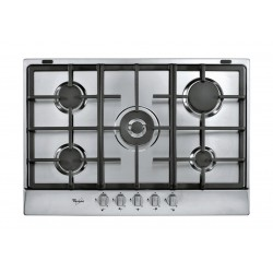 Whirlpool 75cm 5-Burners Built-in Gas Hob (AKR 358/IX) – Silver