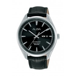 Alba 42mm Gent's Analog Leather Casual Watch - (AL4143X1)