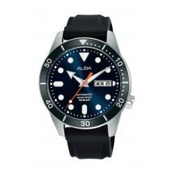 Alba 42mm Gent's Leather Analog Casual Watch - AL4173X1