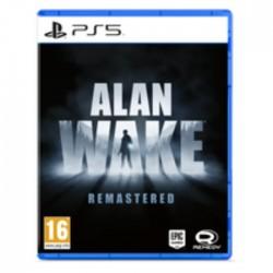 Alan Wake Remastered PS5 Game playstation