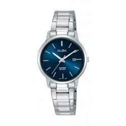 Alba 28mm Quartz Analog Ladies Metal Watch  (AH7R57X1) - Silver
