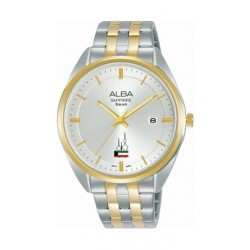 Alba 29mm Ladies Analog Metal Watch with Kuwait Flag - (AH7Y08X1)