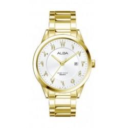 Alba 30mm Arabic Ladies Metal Watch (AH7T34X1) - Gold