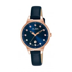 Alba 30mm Ladies Analog Fashion Leather Watch - (AH7U50X1)