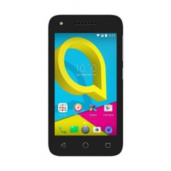 Alcatel U3 - 4055 4G LTE Mobile Black - Front View