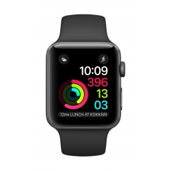 Apple Watch Series 1 - 42mm Space Grey Aluminum Case with Black Sport Band