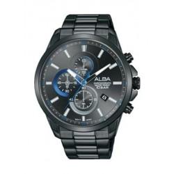 Alba Quartz 44mm Chronograph Gent's Metal Watch - AM3649X1