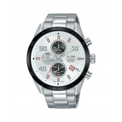 Alba 100mm Chronograph Gents Metal Fashion Watch (AM3669X1)