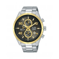 Alba 100mm Chronograph Gents Metal Fashion Watch (AM3670X1)