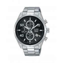 Alba 100mm Chronograph Gents Metal Fashion Watch (AM3675X1)