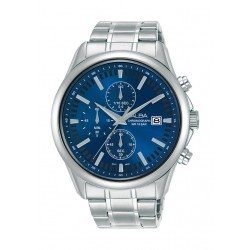 Alba 44mm Gent's Chronograph Casual Metal Watch - (AM3695X1)