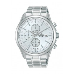 Alba 44mm Gent's Chronograph Casual Metal Watch - (AM3697X1)