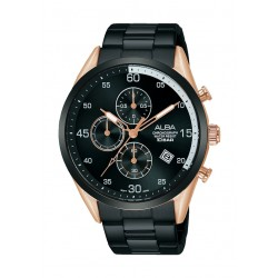 Alba 44mm Gent's Chronograph Casual Metal Watch - (AM3704X1)