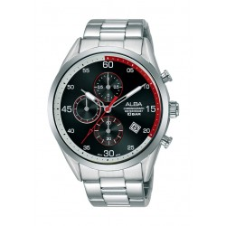 Alba 44mm Gent's Chronograph Casual Metal Watch - (AM3707X1)
