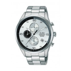 Alba 44mm Gent's Chronograph Casual Metal Watch - (AM3709X1)