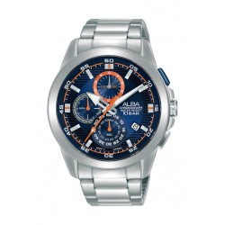 Alba 43mm Gent's Chronograph Fashion Metal Watch - (AM3729X1)