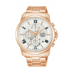Alba Prestige 43mm Men's Chronograph Casual Watch - (AM3770X1)