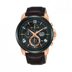 ALBA Quartz Chrono Casual 43mm Gents Watch - AM3780X1