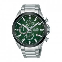 Alba 43mm Men's Chrono Watch (AM3785X1) in Kuwait | Buy Online – Xcite