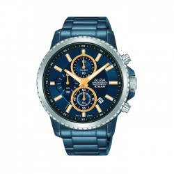 ALBA Quartz Chrono Casual 44mm Gents Watch -AM3791X1