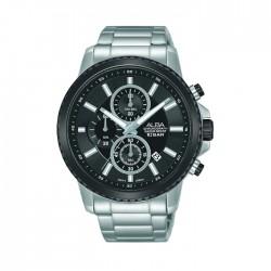ALBA Quartz Chrono Casual 44mm Gents Watch - AM3793X1