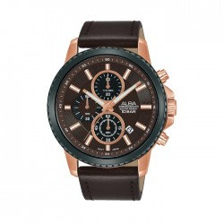 ALBA Quartz Chrono Casual 44mm Gents Watch - AM3798X1