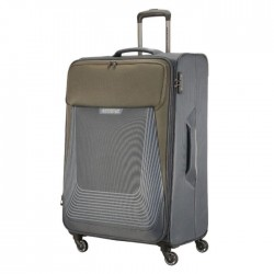 American Tourister Southside Spinner Soft 70cm Luggage grey xcite buy in kuwait