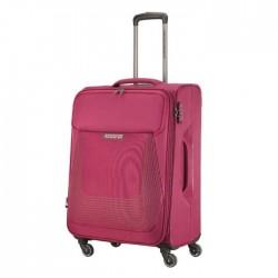 American Tourister Southside Spinner Soft 80cm Luggage Magenta xcite buy Kuwait
