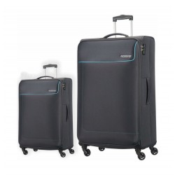 American Tourister Jamaica Trolley Set of 2 (27OX08005) - Grey