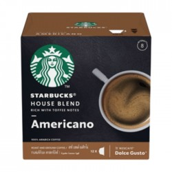 Starbucks By Dolce Gusto House Blend Medium Roast - 12 Capsules