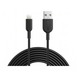 Anker PowerLine 3M Lightning Cable (A8434H11) - Black