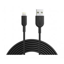 Anker PowerLine 3M Lightning Cable (A8434H11) - Black