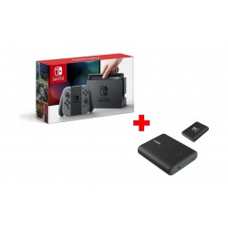 Nintendo Switch Portable Gaming System + Anker PowerCore Nintendo Switch Edition 13400mAh Power Bank
