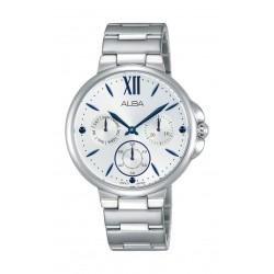 Alba Ladies Fashion Analog 35mm Metal Watch (AP6577X1) - Silver