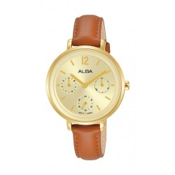 Alba 30mm Ladies Analog Fashion Leather Watch - (AP6656X1)