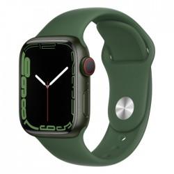 Apple Watch Series 7 green shiny Clover xcite ksa