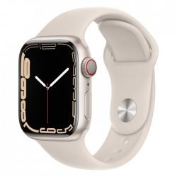 Pre-Order: Apple Watch Series 7 45mm pink shiny Starlight xcite ksa