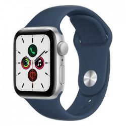 Apple Watch SE GPS 40mm - Silver / Abyss Blue buy in xcite kuwait