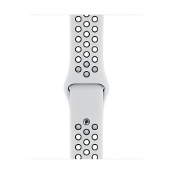 Apple 44mm Smart Watch Nike Sport Band (MTMY2ZM/A) - Platinum / Black